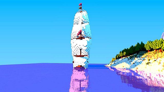 Galleon Aurora Ship Minecraft 5