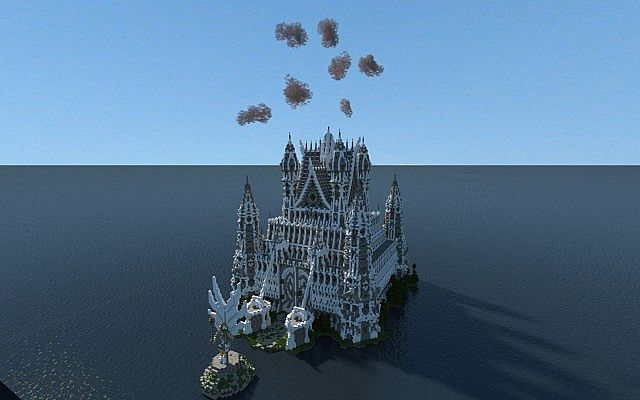 Hypelia Castle minecraft building
