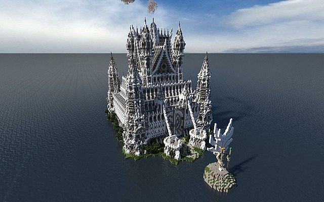 Hypelia Castle minecraft building ideas 3