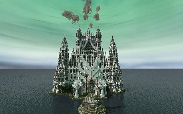 Hypelia Castle minecraft building ideas 4