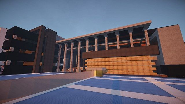 Luxurious Modern House 3 minecraft building 10