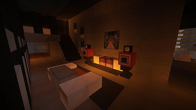 Luxurious Modern House 3 minecraft building 13