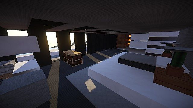 Luxurious Modern House 3 minecraft building 15