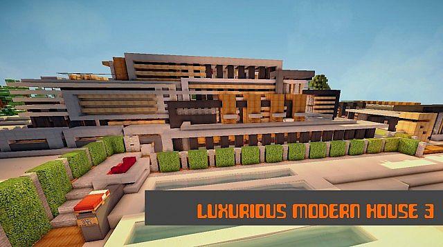 Luxurious Modern House 3 minecraft building 2