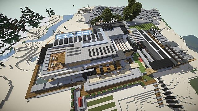 Luxurious Modern House 3 minecraft building 3