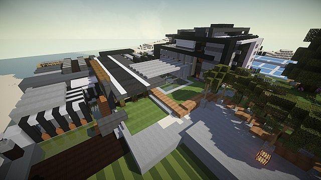 Luxurious Modern House 3 minecraft building 4