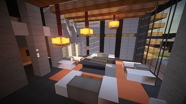 Luxurious Modern House 3 minecraft building 5