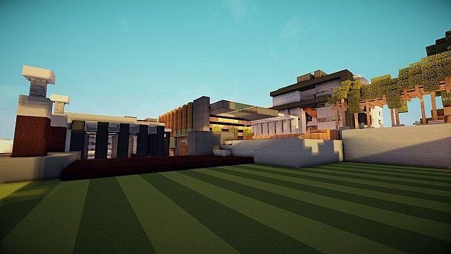 Luxurious Modern House 3 minecraft building 6