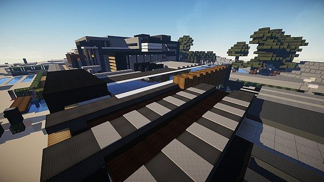 Luxurious Modern House 3 minecraft building 9
