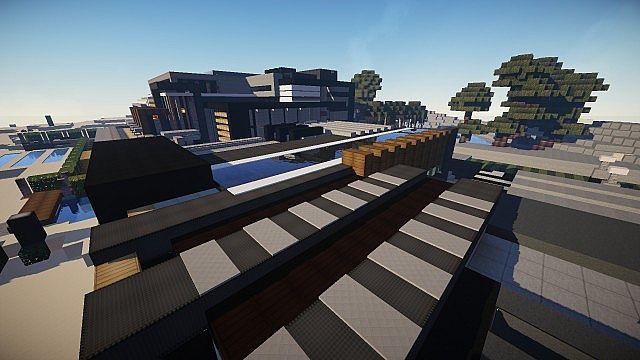 Luxurious Modern House 3 minecraft building 9