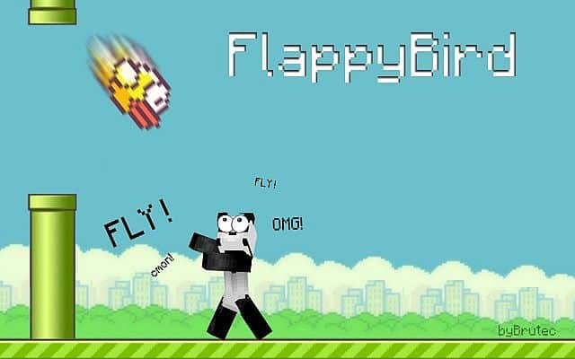 Minecraft 1.8 - FlappyBird Mini Game