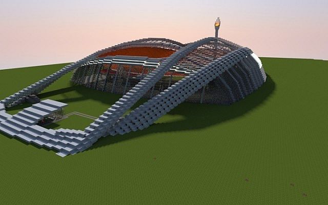 Olympic Stadium minecraft building ideas 2