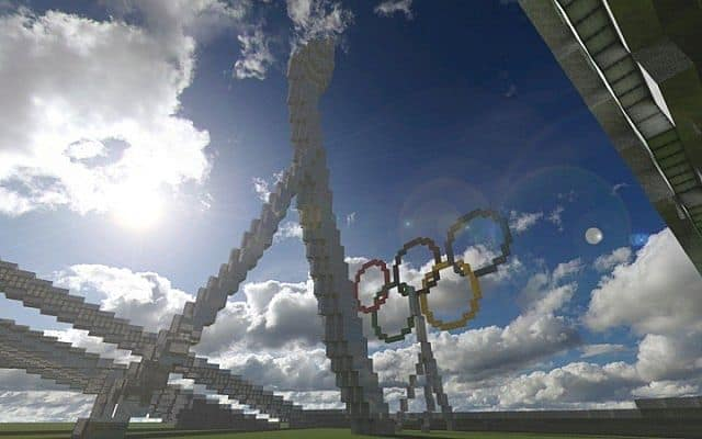 Olympic Stadium minecraft building ideas 4