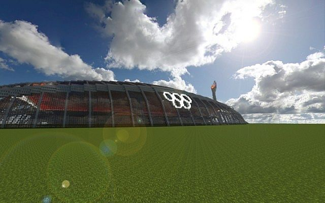 Olympic Stadium minecraft building ideas 5