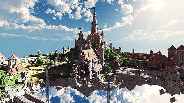 Minecraft Building Ideas castle village