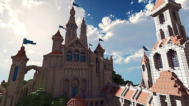 Terados Castle Minecraft village ideas 5