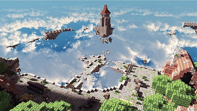 Terados Castle Minecraft village ideas 6