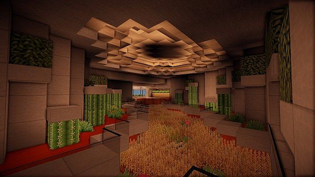 The Grande mansion house minecraft building 10