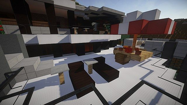 The Grande mansion house minecraft building 4