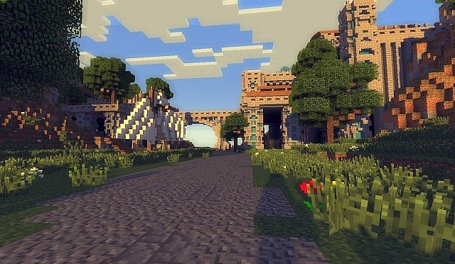 The kings garden minecraft building ideas 2