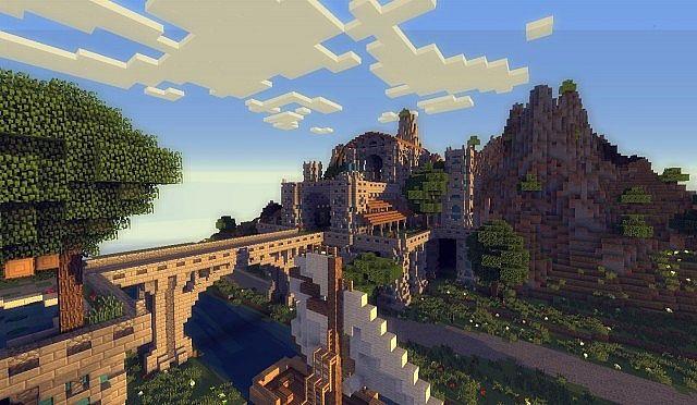 The kings garden minecraft building ideas 6