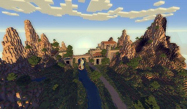 The kings garden minecraft building ideas 7