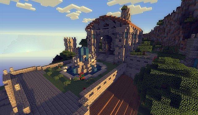 The kings garden minecraft building ideas