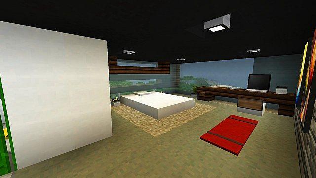 De Stijl 3 Suburban Alluvium Modern Seaside Townhouses minecraft 12