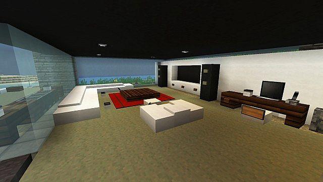 De Stijl 3 Suburban Alluvium Modern Seaside Townhouses minecraft 7