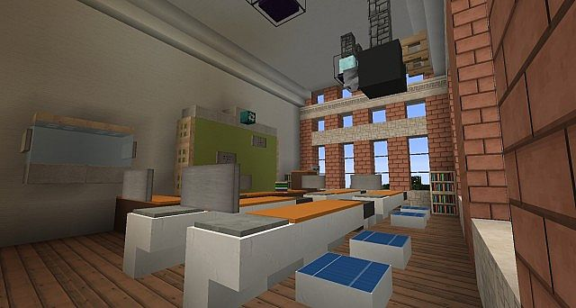 Ironhurst Elementary School minecraft building 10