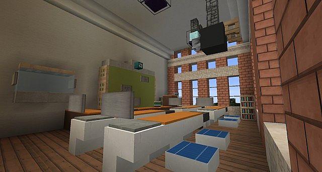 Ironhurst Elementary School minecraft building 10
