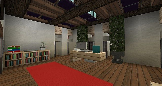 Ironhurst Elementary School minecraft building 4