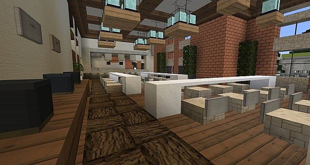 Ironhurst Elementary School minecraft building 8