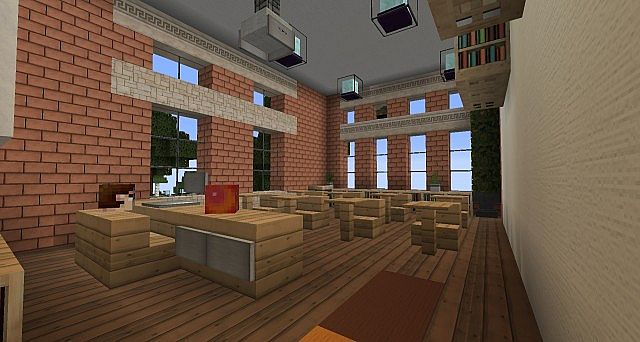 Ironhurst Elementary School minecraft building 9