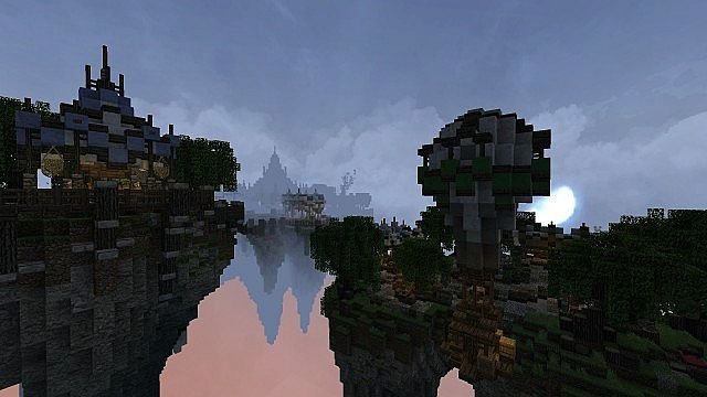 Market Mappack minecraft building ideas floating city 12