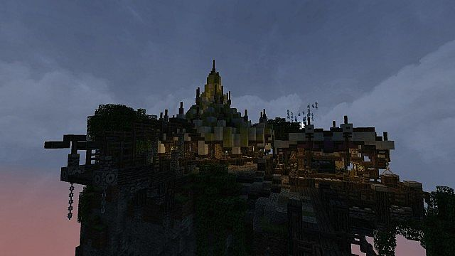 Market Mappack minecraft building ideas floating city 13