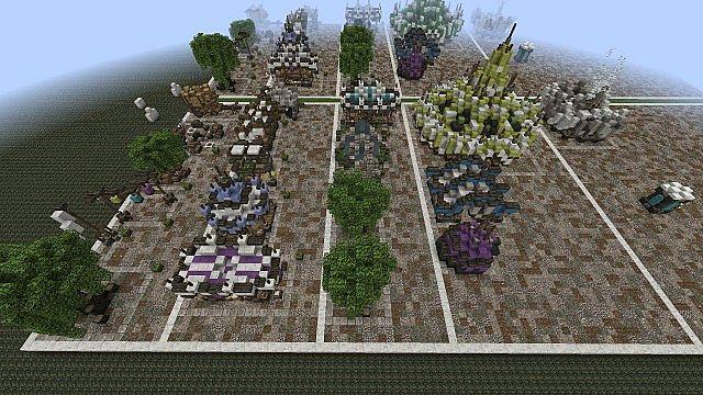 Market Mappack minecraft building ideas floating city 14