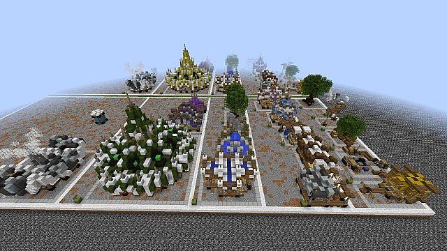 Market Mappack minecraft building ideas floating city 15