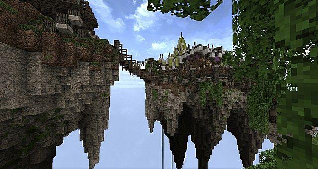 Market Mappack minecraft building ideas floating city 3