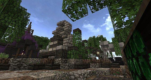 Market Mappack minecraft building ideas floating city 5