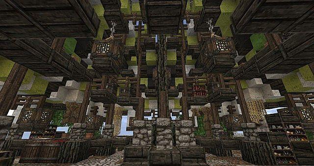 Market Mappack minecraft building ideas floating city 7