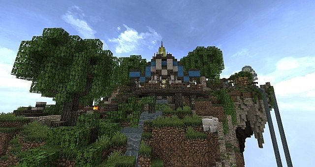 Market Mappack minecraft building ideas floating city 8