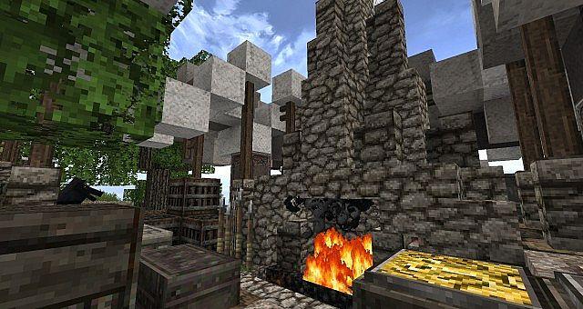 Market Mappack minecraft building ideas floating city 9