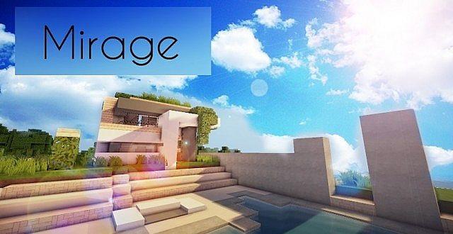 Mirage Luxury Modern House Minecraft Building Inc