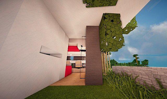 Mirage luxury modern house minecraft building ideas 8