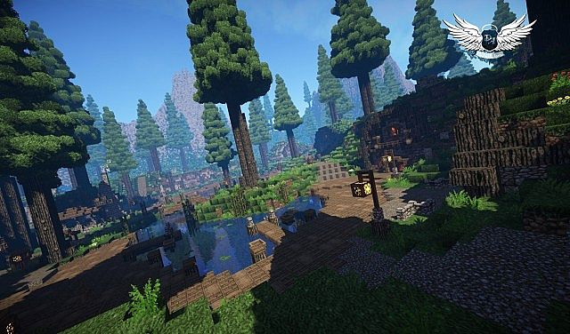 Taerin The Under Hill Village cinematic download minecraft building ideas 5