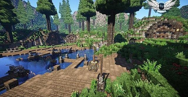 Taerin The Under Hill Village cinematic download minecraft building ideas 7