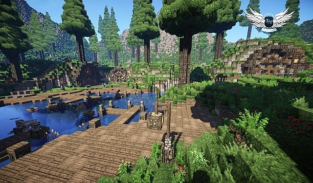 Taerin The Under Hill Village cinematic download minecraft building ideas 7