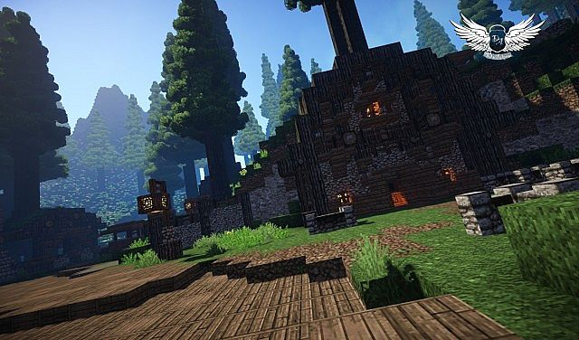 Taerin The Under Hill Village cinematic download minecraft building ideas