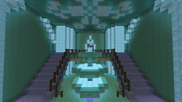 Frozen Elsa S Ice Castle Minecraft Building Inc